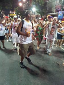 Jornalista Fernando Paulino no preparo para a Maratona Momesca