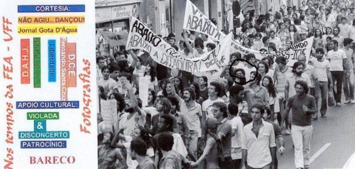 Subversivos na Rua da Conceição-Niterói