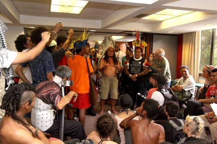Fala da Lideranças Indígenas