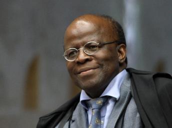 O presidente do Supremo Tribunal Federal (STF), Joaquim Barbosa STF