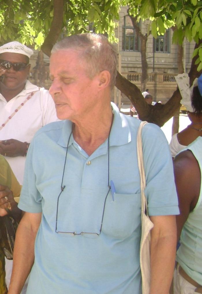 Renato Branco na passeata de Yemanjá- foto Marcelo Reis