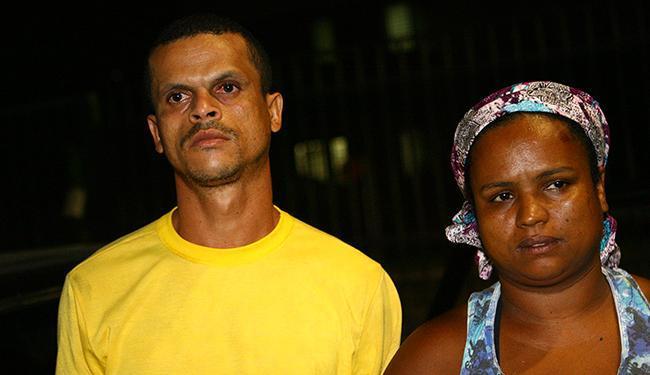 Rose Meire e Ednei: lideranças do Quilombo Rio dos Macacos foram espancadas e presas pela Marinha em Aratu, Salvador.  Foto: Margarida Neide – Ag. A Tarde