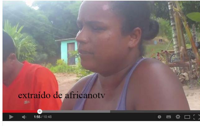 Rosemeire dos Santos- Quilombola de Rio dos Macacos-BA