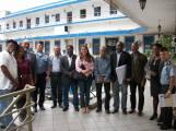 Um dos últimos encontros públios do Oliveira na reunião da câmara técnica de igualdade racial com a pm-rj