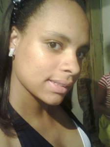 Ludmila Santos Silva, de 17 anos.
