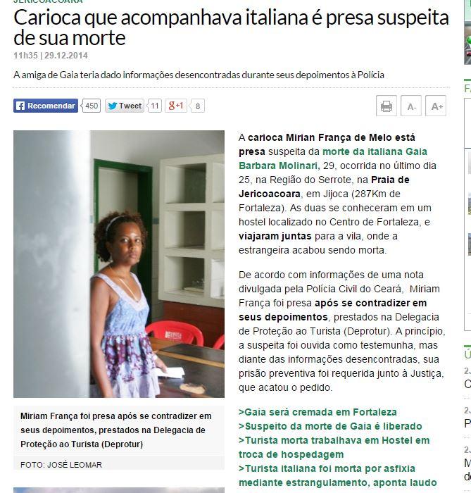 Miriam França exposta