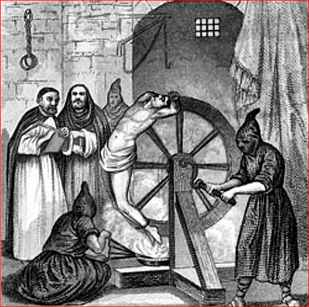 Roda da Tortura Medieval