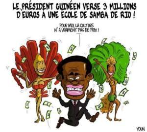 caricartura obiang