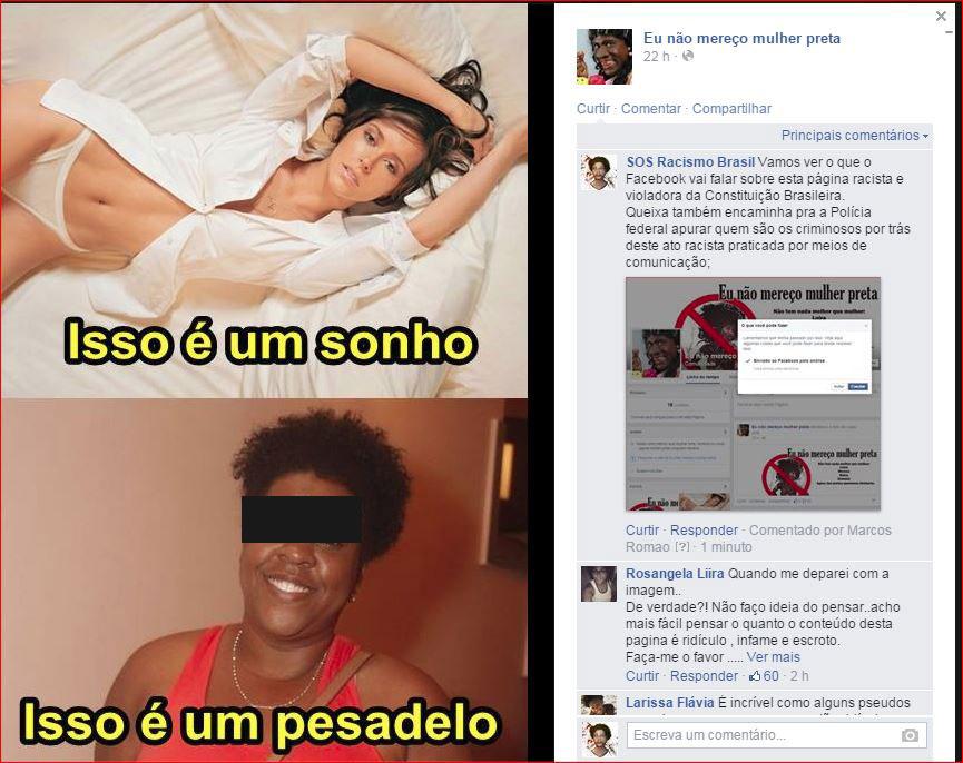 8b1ab99c6fb96 Num só dia,15 mil pessoas na Mamapress contra racismo no Facebook