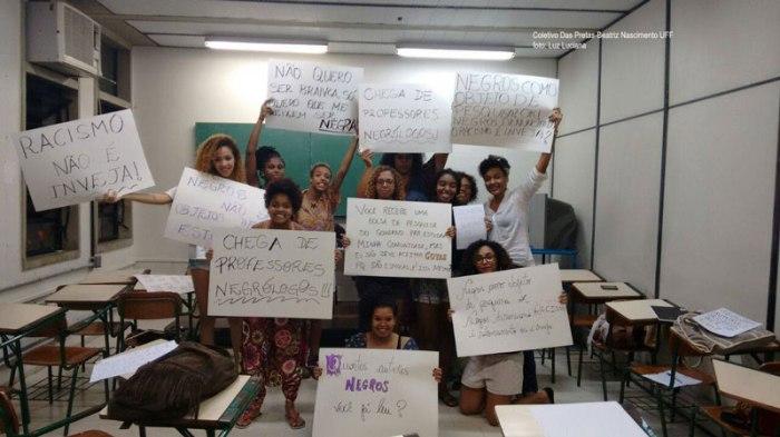 Coletivo Das Pretas-Beatriz Nascimento-UFF Foto: Luz Luciana
