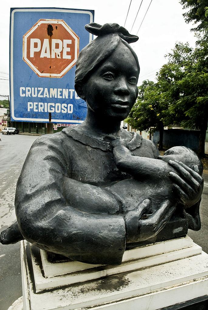 Monumento da Mãe Preta Foto: Diadorim Ideias/Isabela Kassow