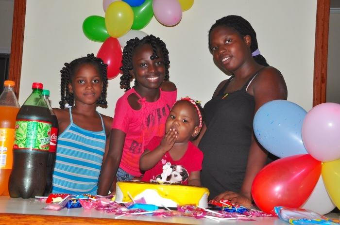 Ruth festeja seu aniversário