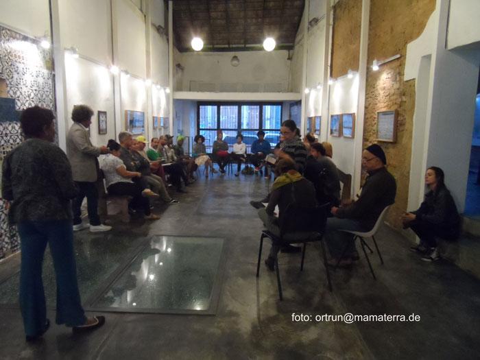 Reunião no Instituto Pretos Novos