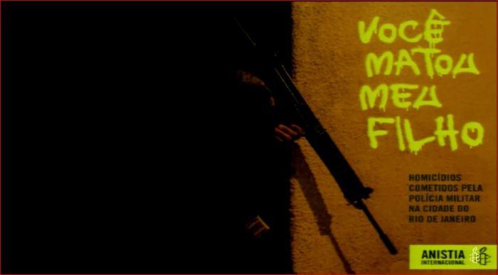 Capa do Relatório da Anistia