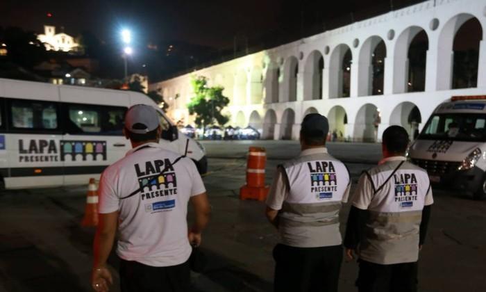 Operação Lapa Presente - Urbano Erbiste / Agência O Globo (31/07/2015)