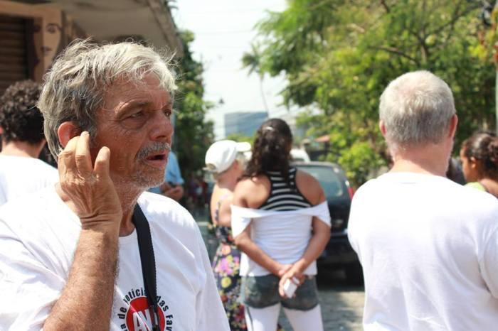Na ocupação Guerreiros Urbanos em Santa Tereza, logo após o Ocupa Rio. Foto: Diego Felipe