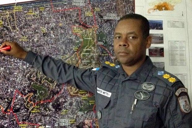 Tenente Coronel Marcos Netto