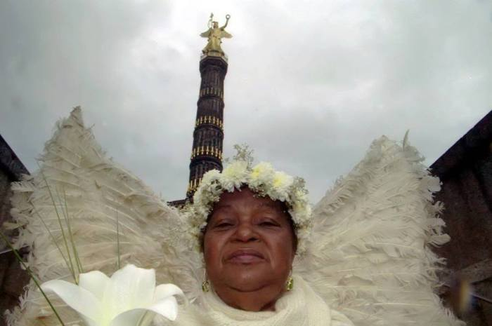 Anja Negra de Berlim-Babalorixá Beata de Yemanjá-foto Yone Guedes