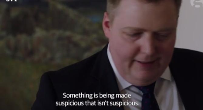 Parece suspeito mas não é suspeito- Gunnlaugsson