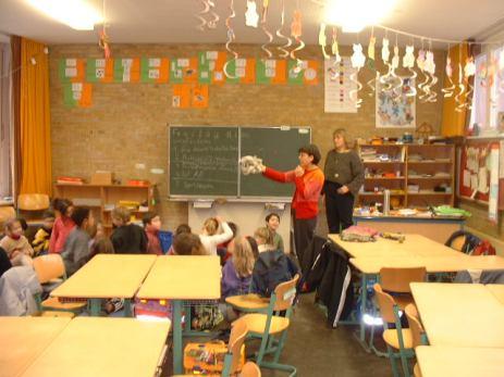 professoras portuguesa e alemã