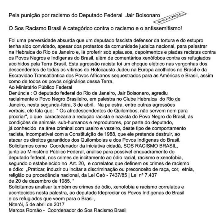 Pela-punição-de-Bolsonaro